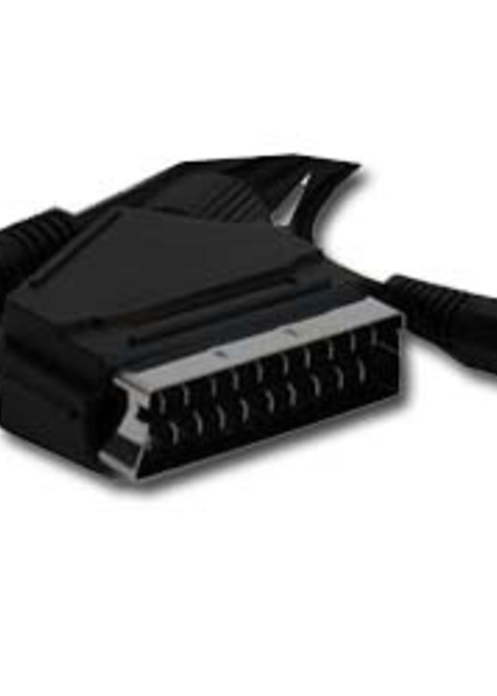 CableXpert Aansluitkabel van SCART naar S-video + audio kabel, 5 meter