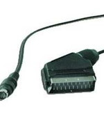 No-name SCART naar S-Video adapterkabel, 1,8 m