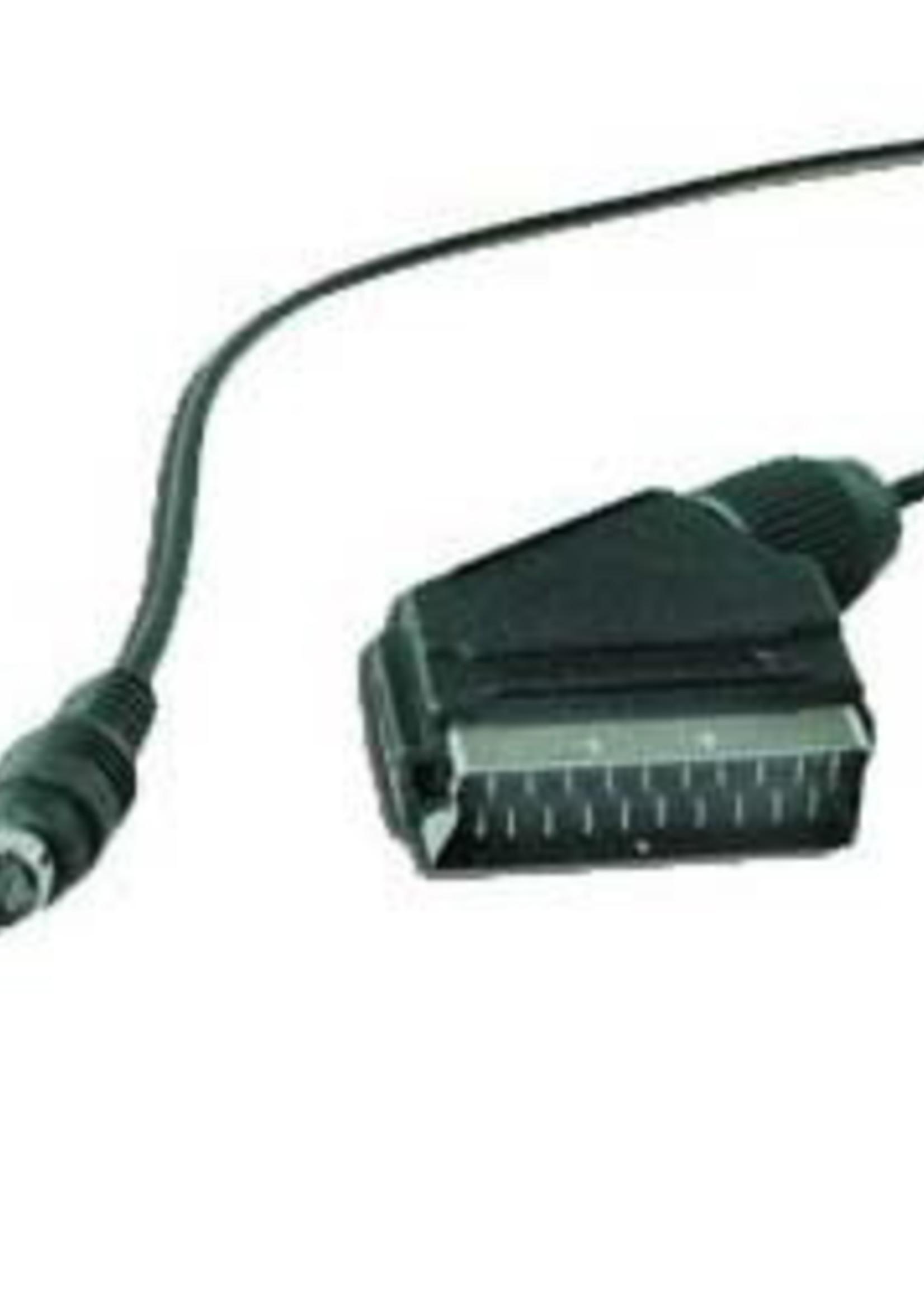 No-name SCART naar S-Video adapterkabel, 1,8 m