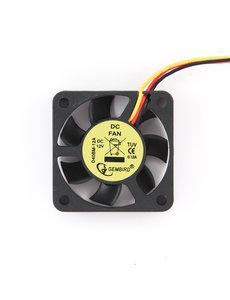 Gembird 40x40x10mm kogellager DC fan, 12 V, 70 mm kabel