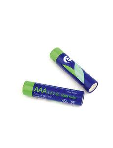 EnerGenie Oplaadbare AAA batterijen 2 stuks 1000mAh
