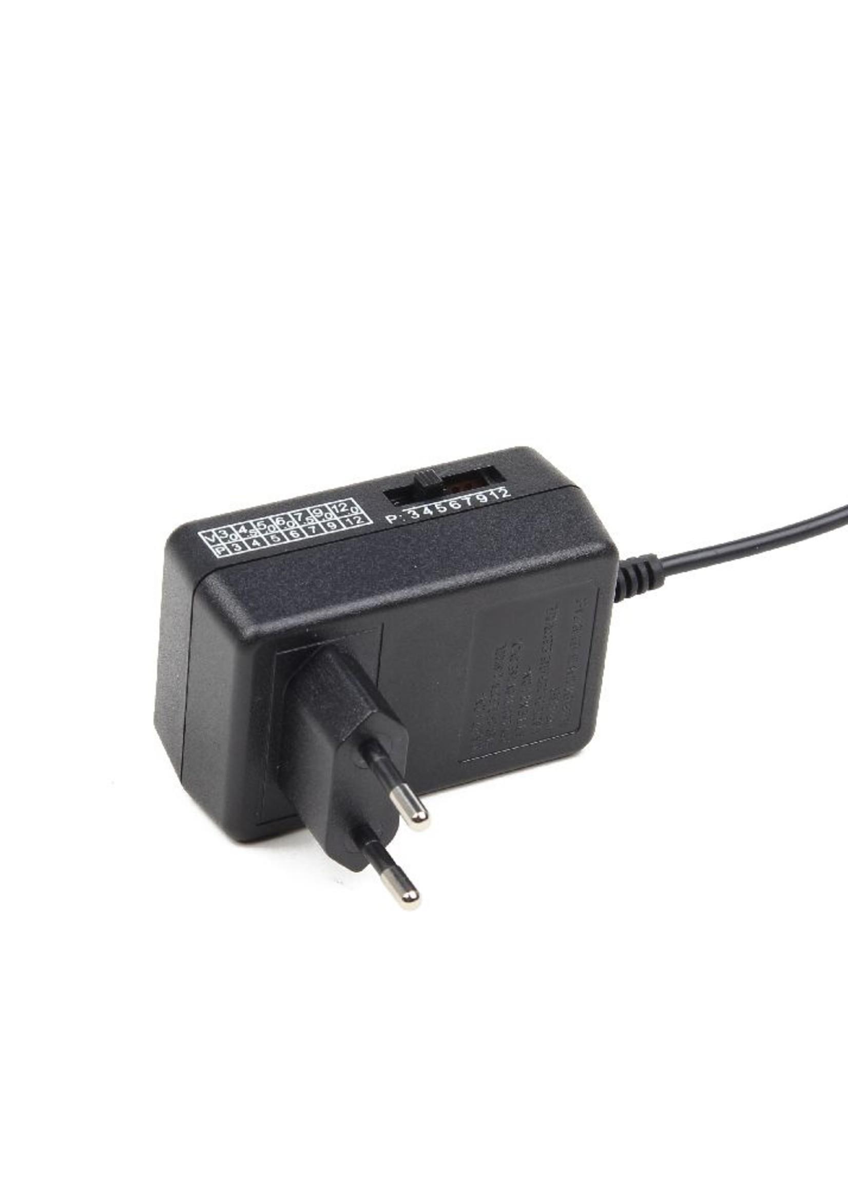 EnerGenie Universele AC/DC adapter, 12 W