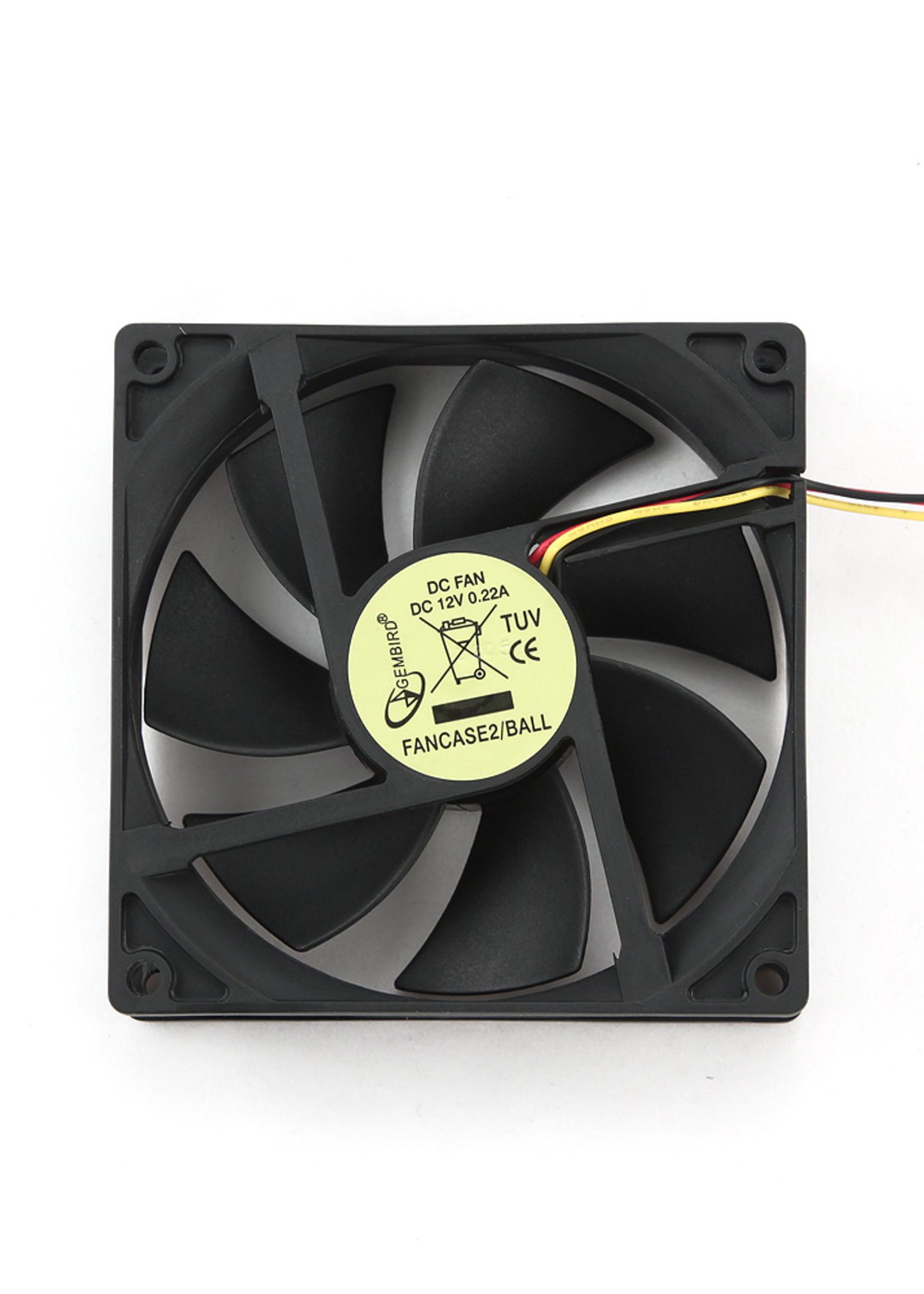 Gembird Ventilator voor PC behuizing, kogellager 90mm * 90mm * 25mm