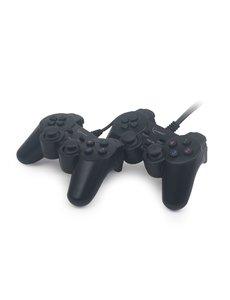 GMB Gaming Dubbele USB gamepad met vibratie