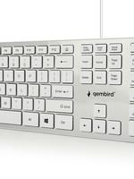Gembird Slimline 'chocolate' toetsenbord USB