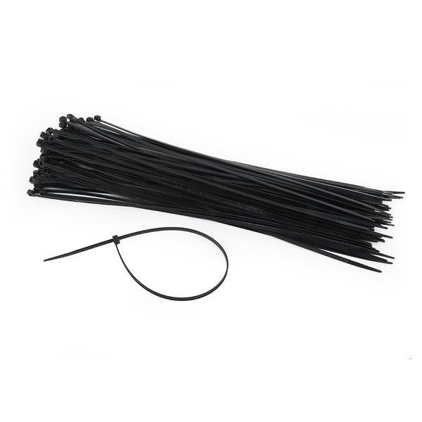 CableXpert Nylon tiewraps 300 x 3,6 mm (UV-bestendig), zak 100 stuks