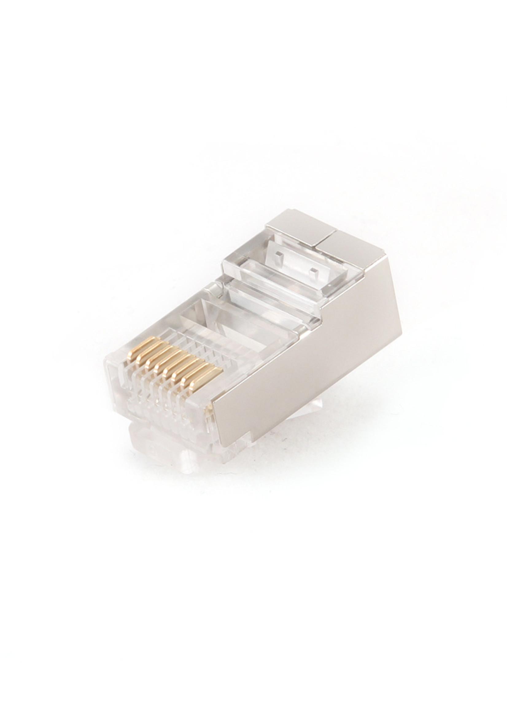 CableXpert Afgeschermde modulaire RJ45 stekker, 8P8C, 10 stuks