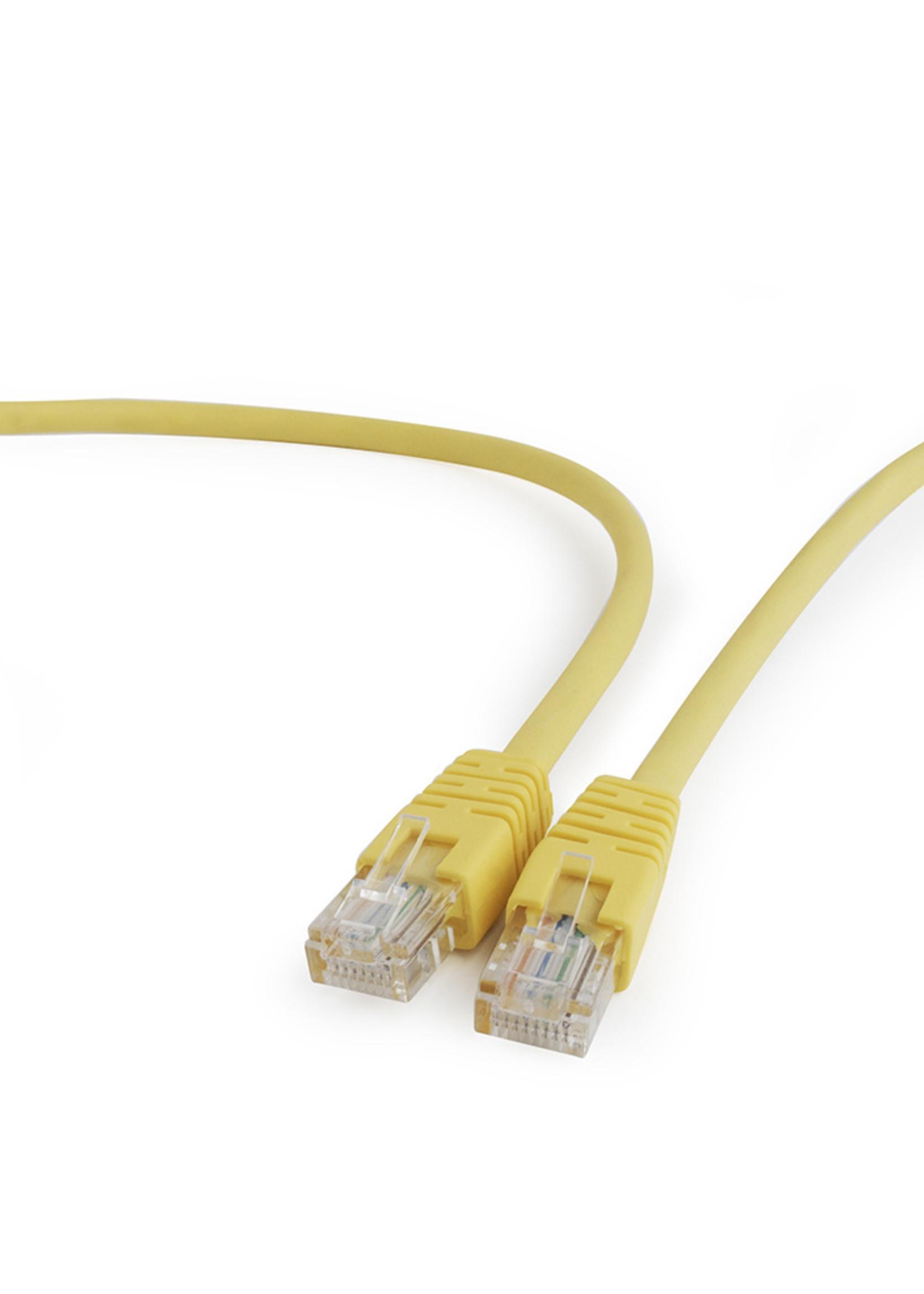 CableXpert UTP Cat5E patchkabel geel 0.25 meter