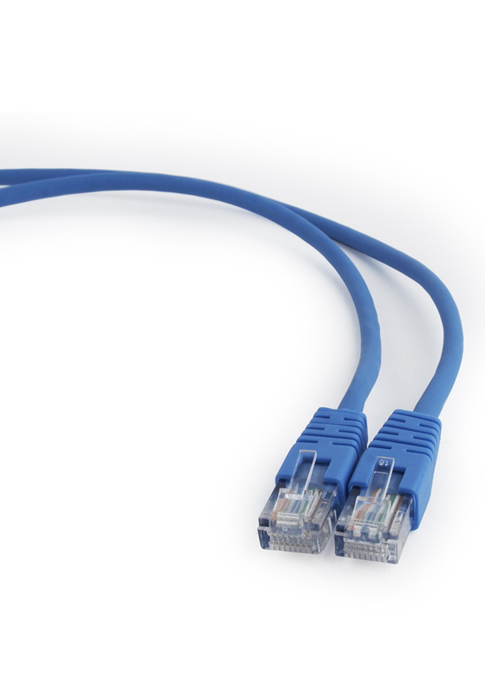 CableXpert UTP Cat5E patchkabel blauw 3 meter