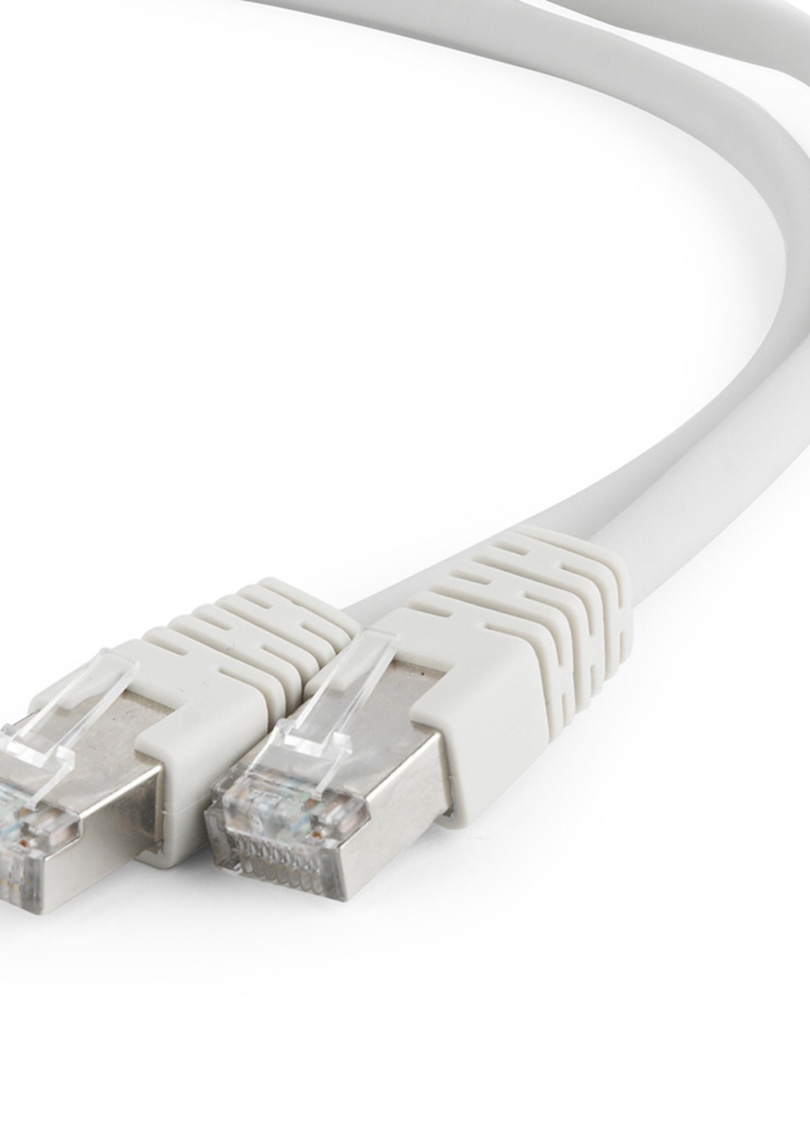 CableXpert S/FTP Cat6A patchkabel LSZH, grijs 0.25 meter