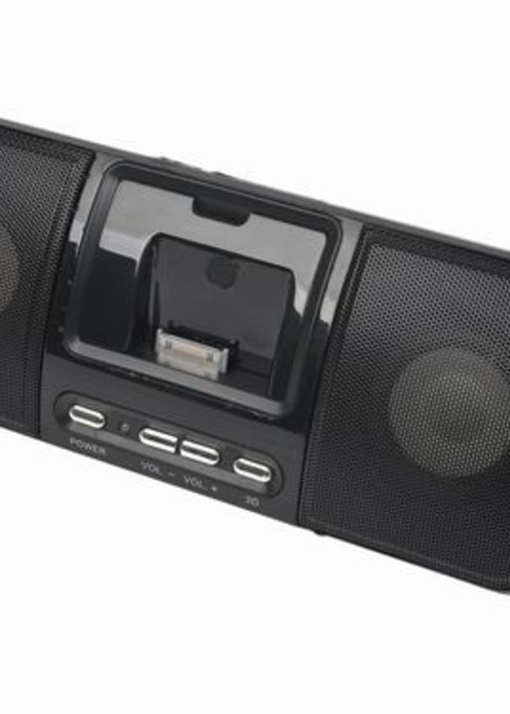 Gembird Draagbare speaker met universeel docking station voor iPod en iPhone