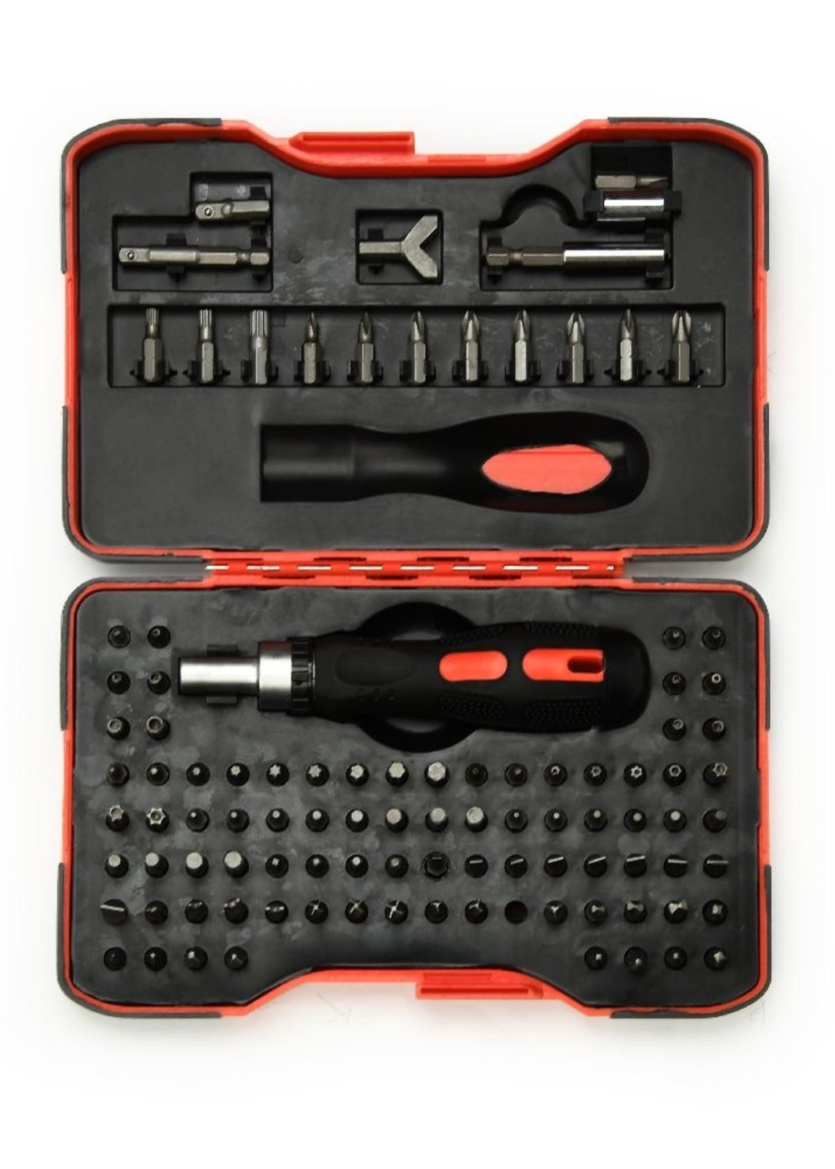 CableXpert Ratelschroevendraaier bitset, 101-delig