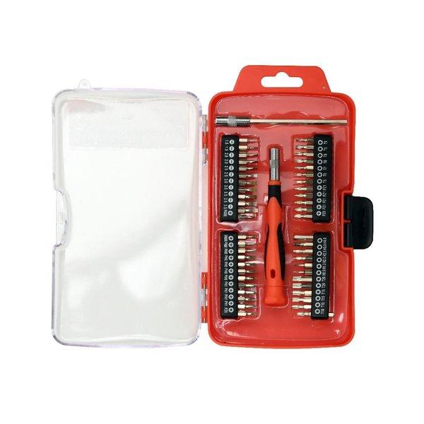 CableXpert Precisie-schroevendraaier bitset, 50-delig