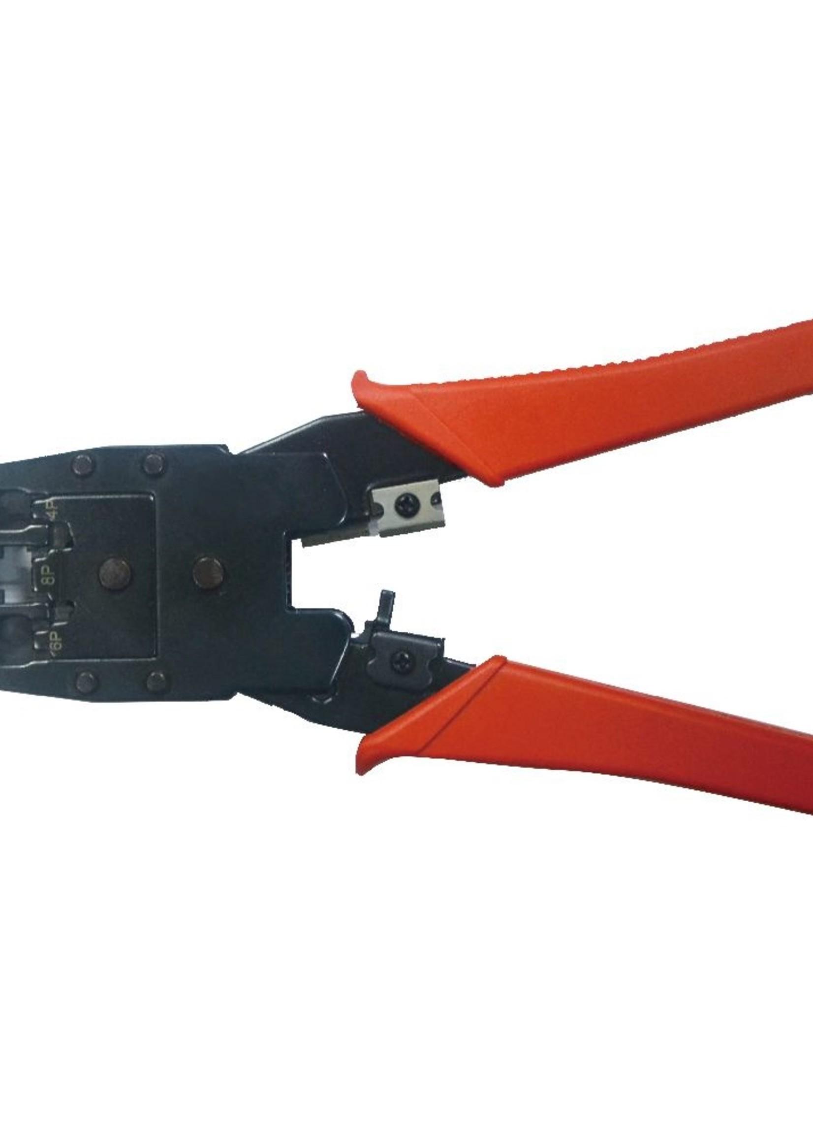 CableXpert Universele modulaire krimptang, RJ45 / RJ12 / RJ11