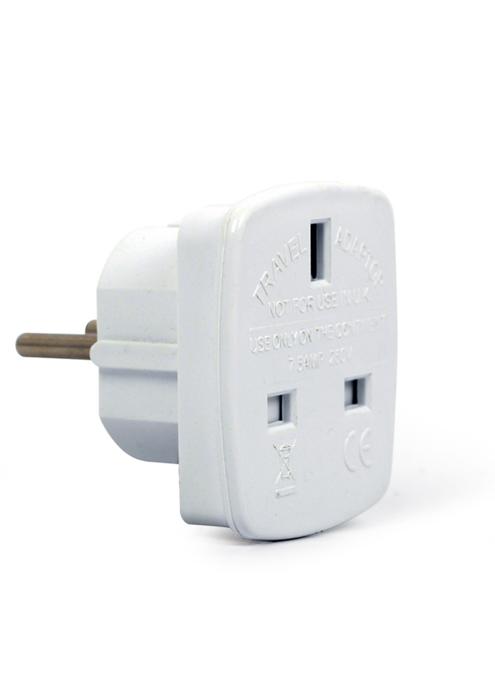 CableXpert EU naar UK stekkeradapter, 7.5 A