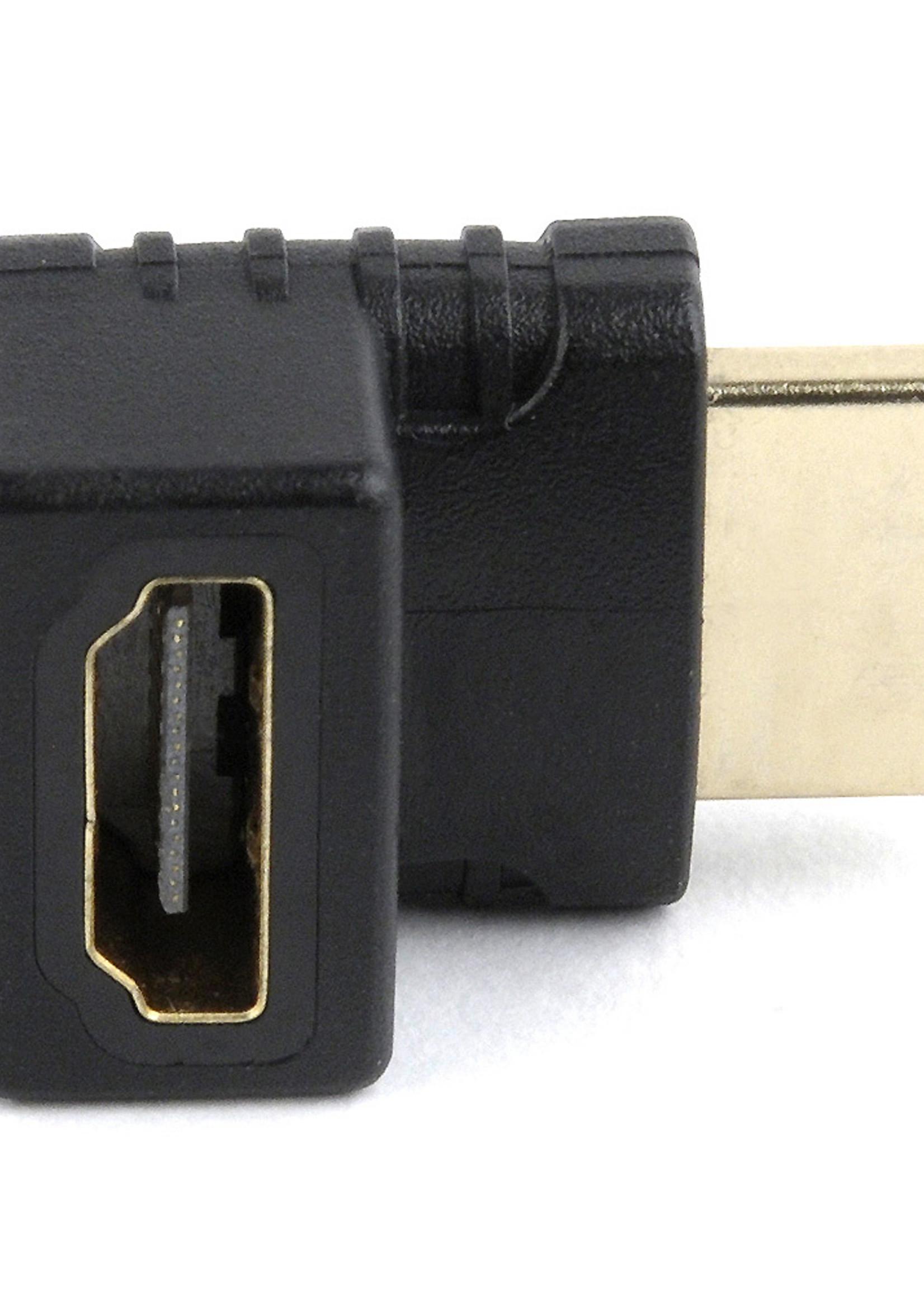 CableXpert Haakse HDMI verloopstekker, 270° naar beneden