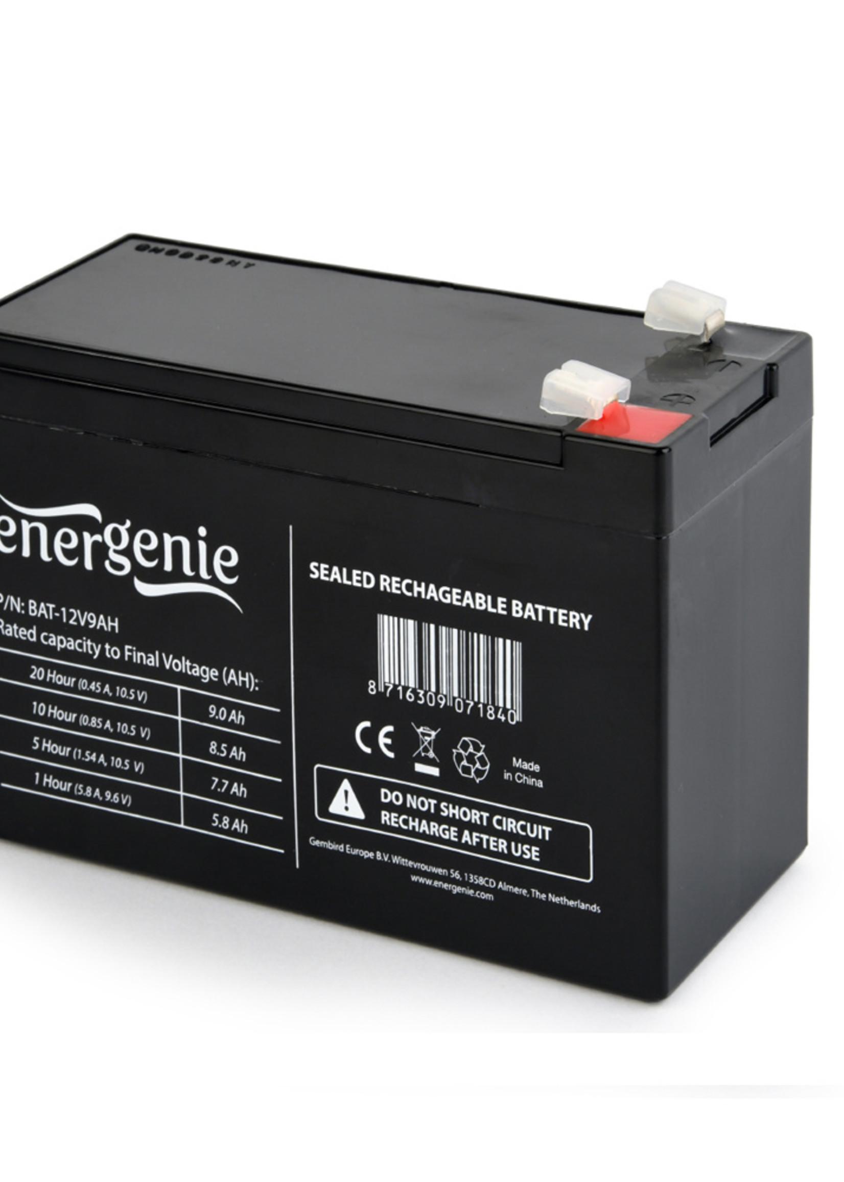 EnerGenie Batterij voor UPS, 12V, 9AH