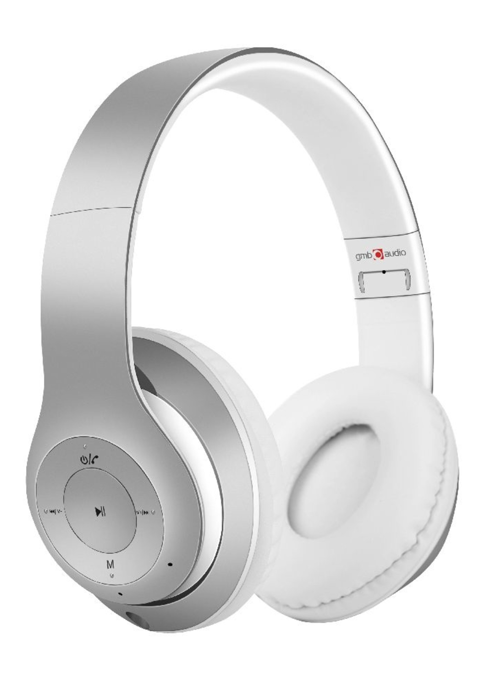 GMB-Audio Stereo Bluetooth headset 'Milano' wit