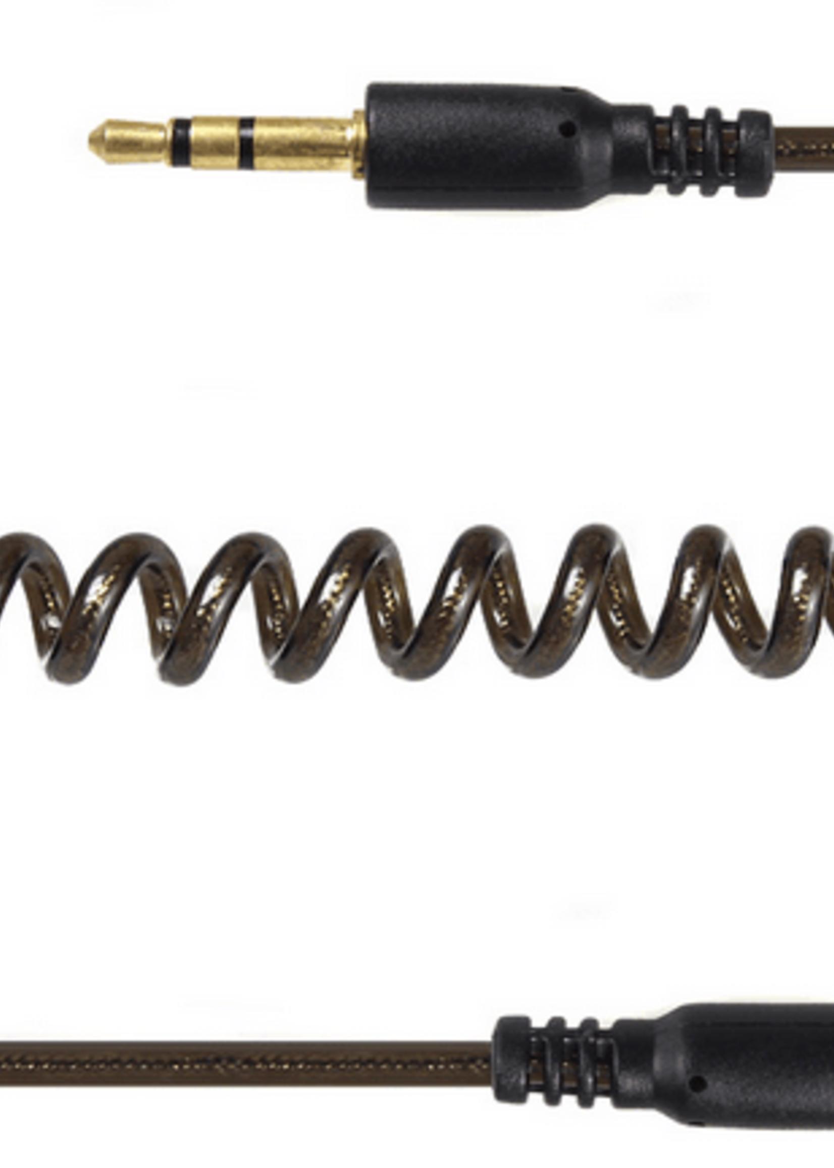 CableXpert 3.5 mm stereo audio-spiraalkabel, 1.8 meter