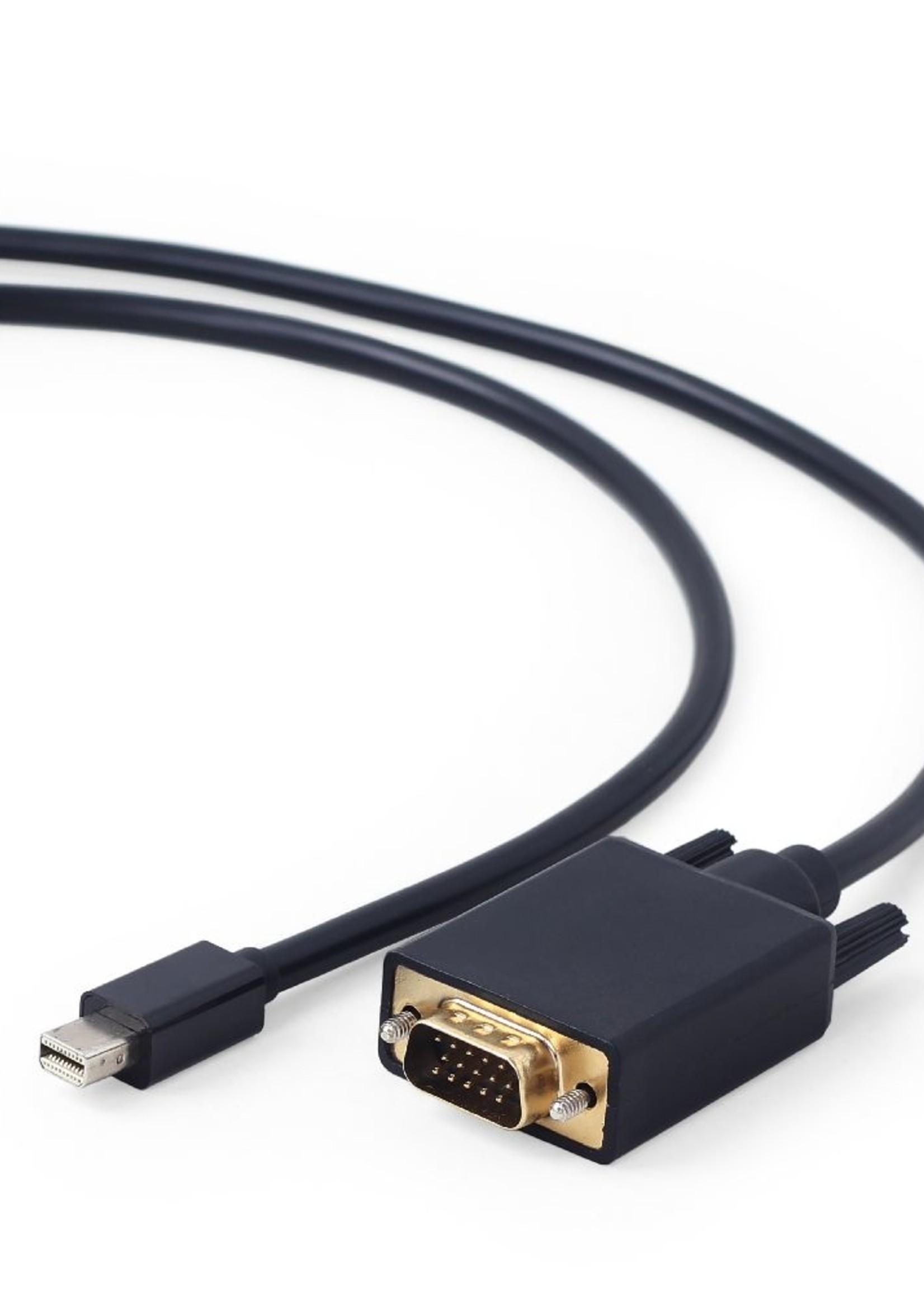 CableXpert Mini DisplayPort naar VGA-kabel, 1.8 meter