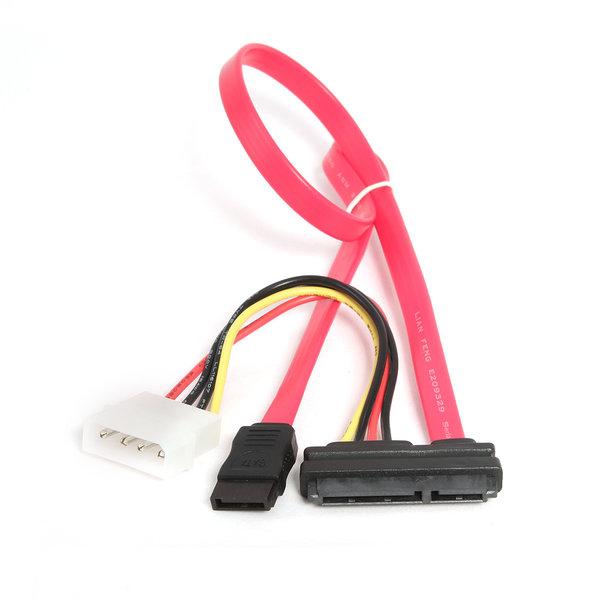 CableXpert Serial ATA III data en stroom combinatie kabel
