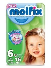 Molfix Molfix Babyluiers Extra Lange Nr 6