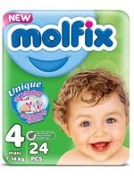 Molfix Molfix Babyluiers Maxi Nr 4
