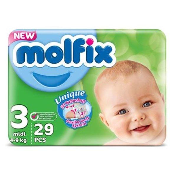 Molfix Molfix Babyluiers Midi Nr 3
