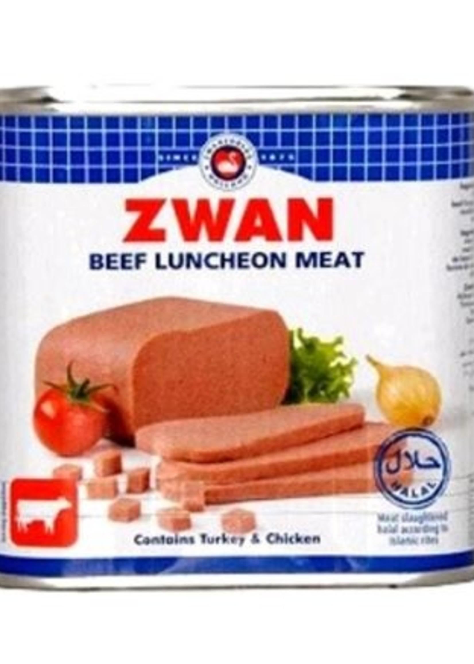 Zwan Luncheon Meat Rund 340 gram