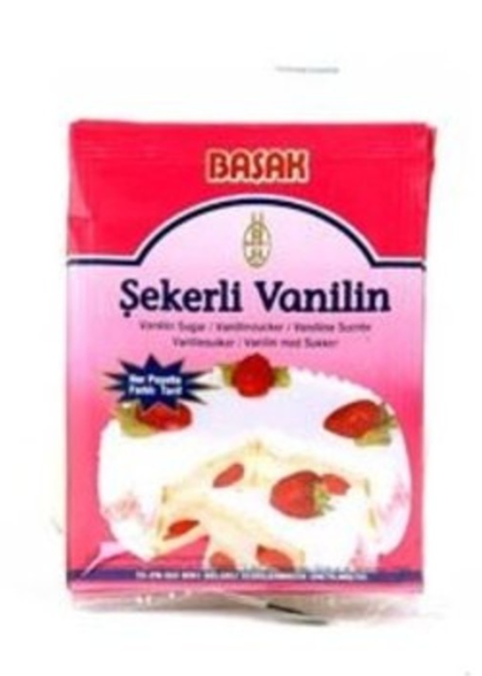 Basak Basak Vanillesuiker 25 gram
