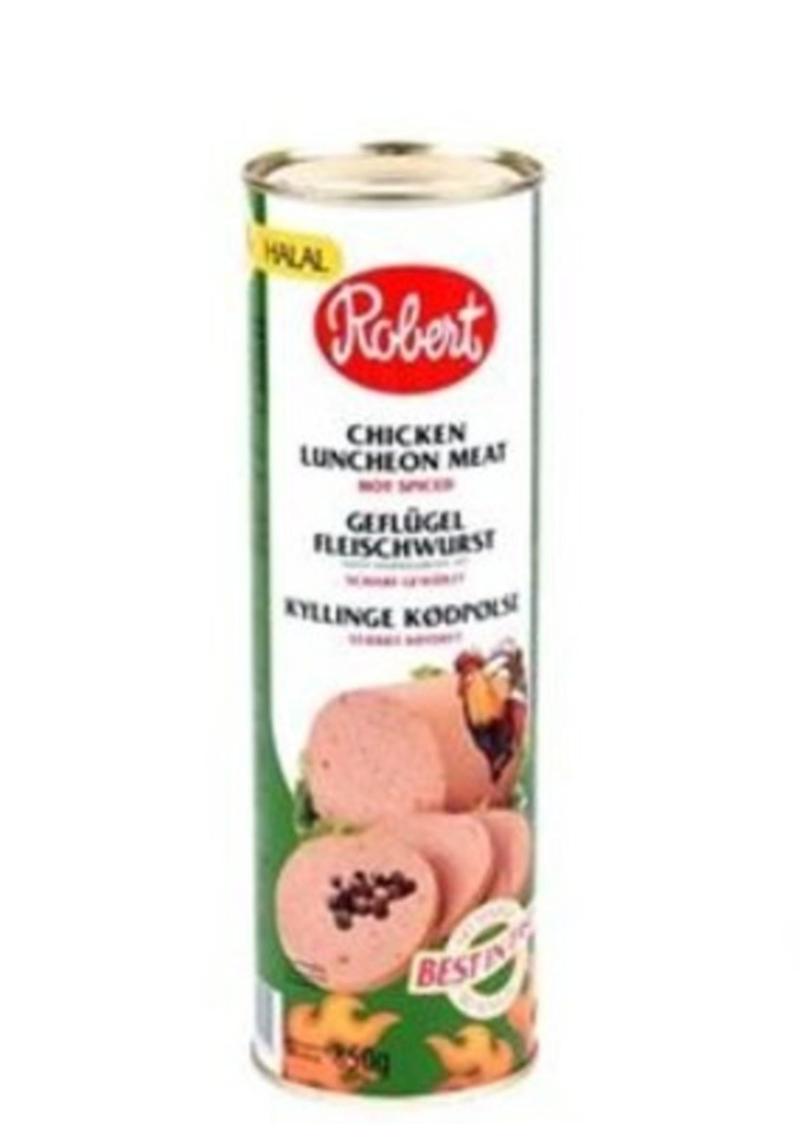 Robert Robert Luncheon Meat Kip Pikant 850 gram