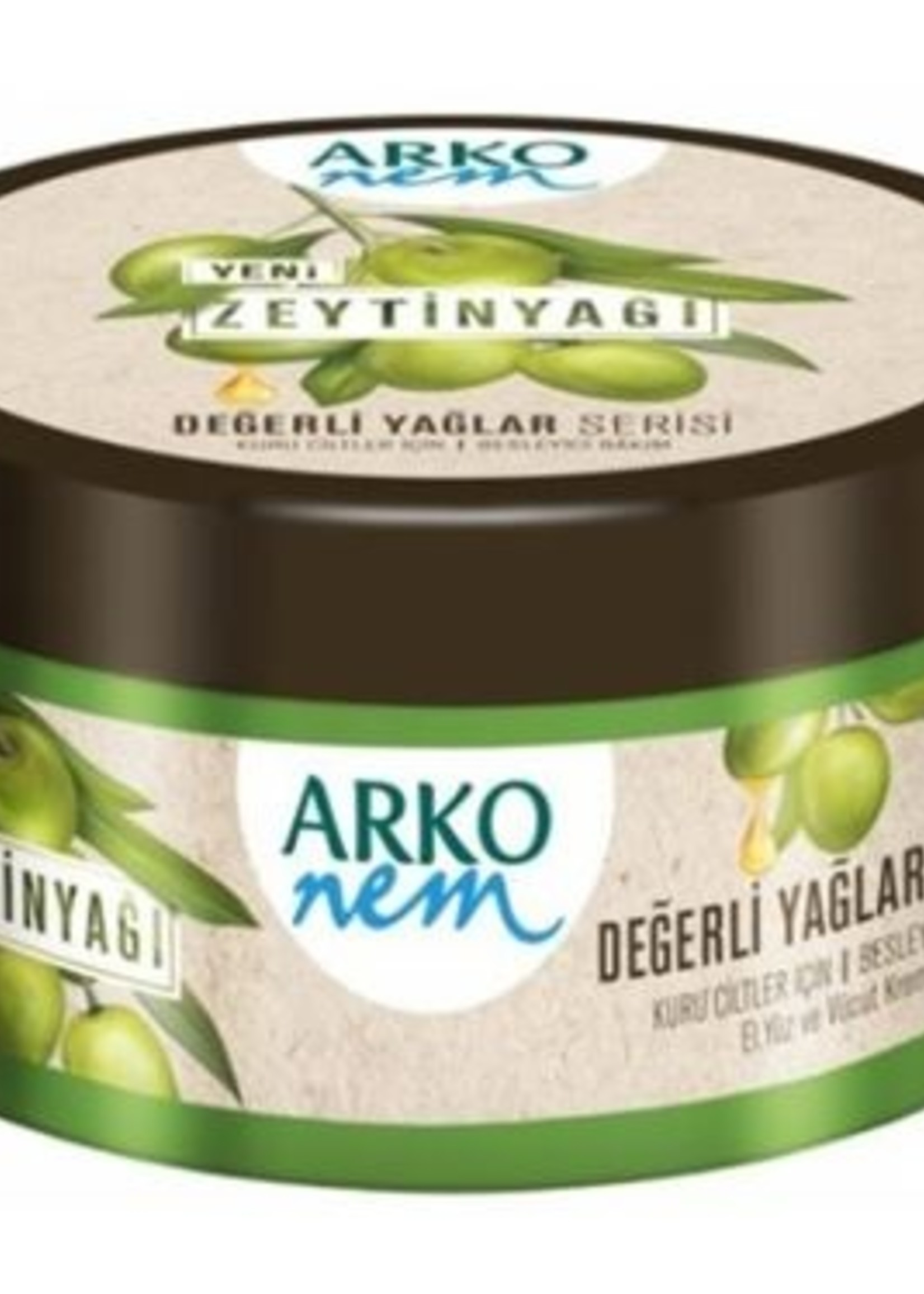 Arko Arko Creme Nem Olijfolie 250 ml