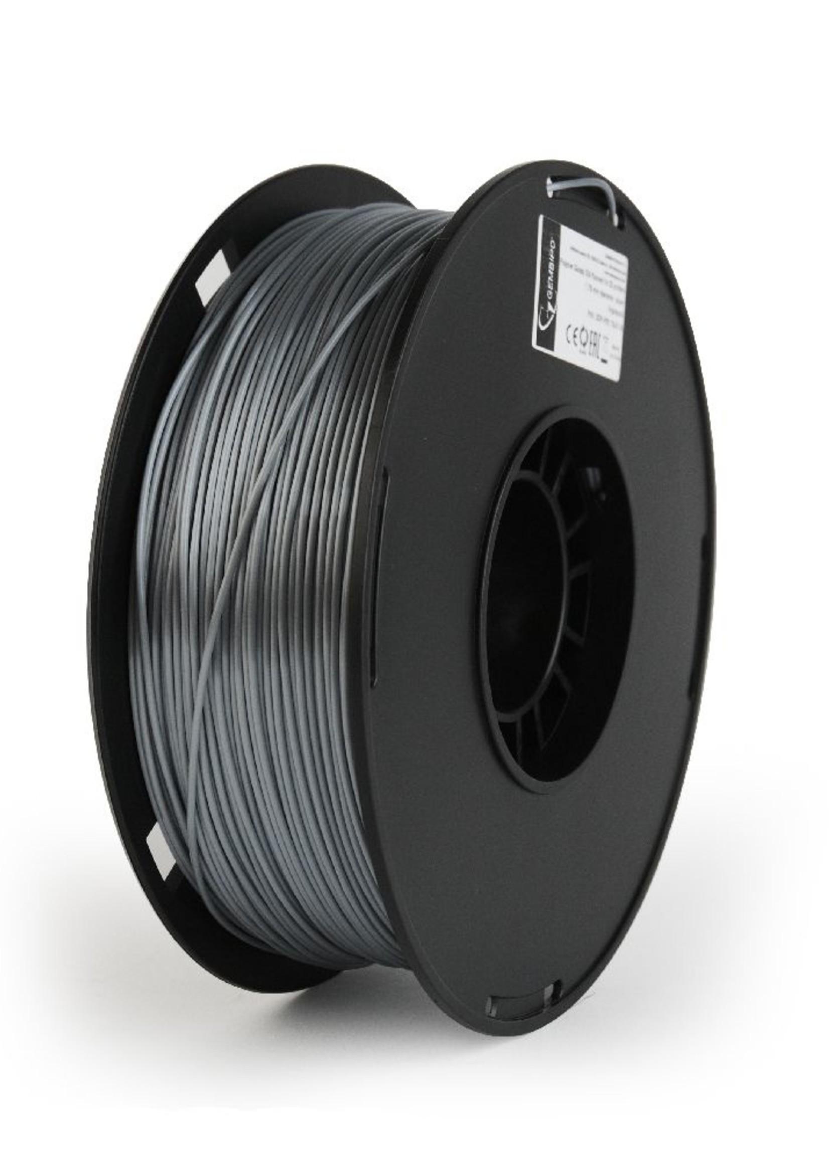 Gembird3 PLA-PLUS filament zilver, 1.75 mm, 1 kg