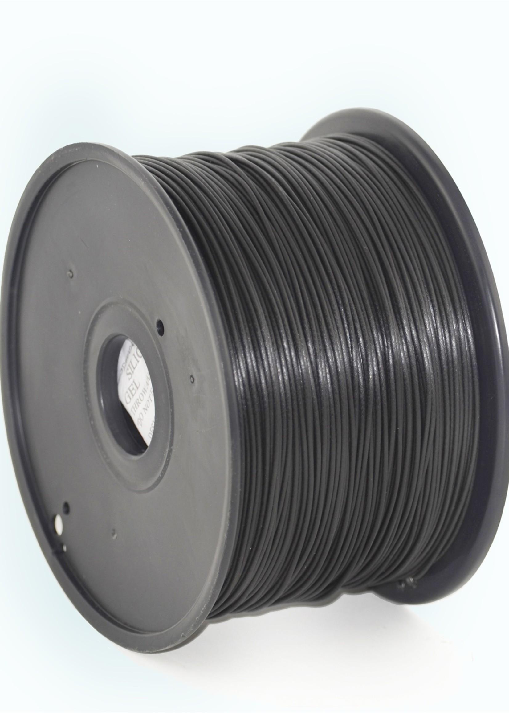 Gembird3 PLA Zwart 1.75 mm, 1 kg