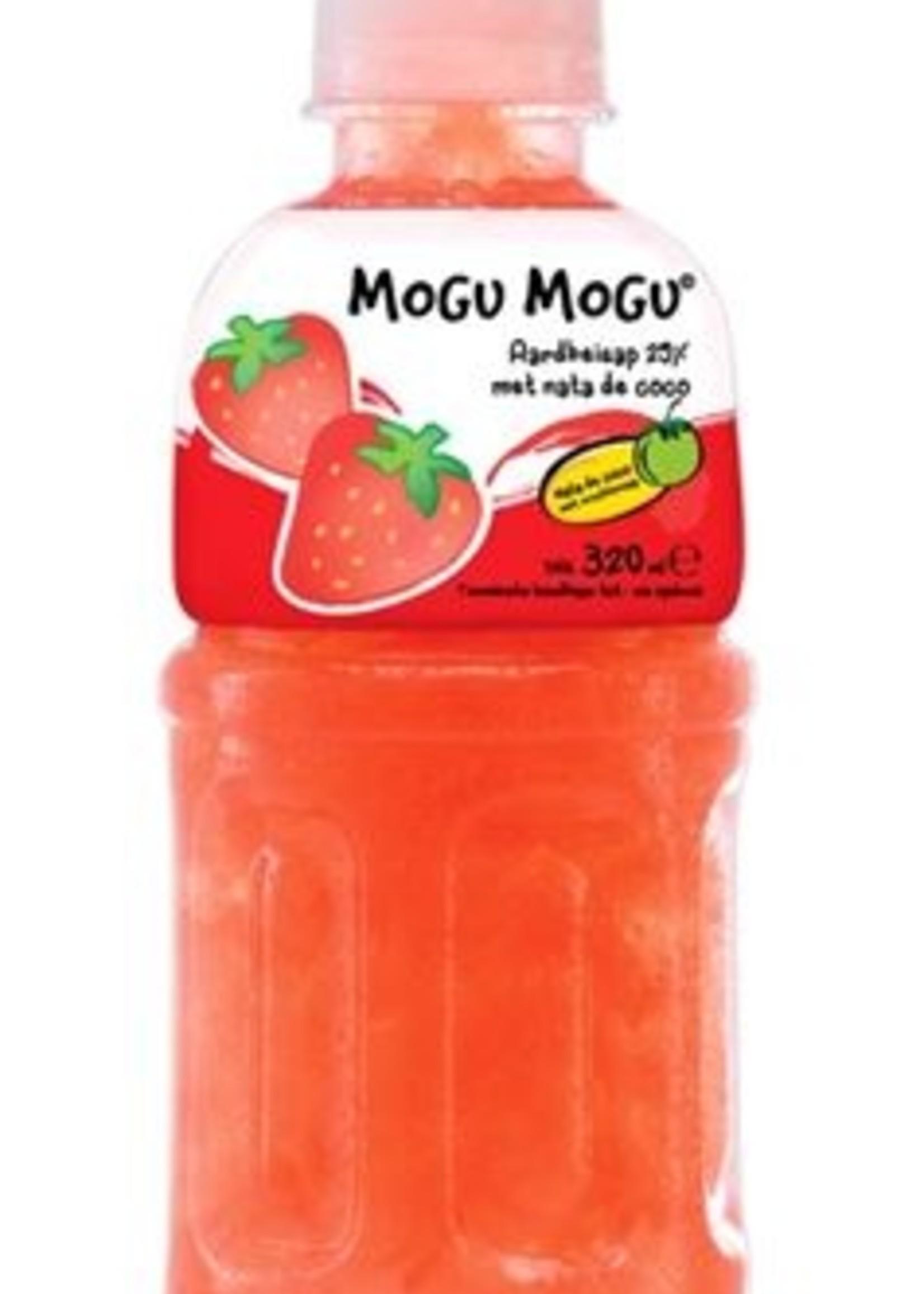Mogu Mogu Aardbei 24 x 320 ml