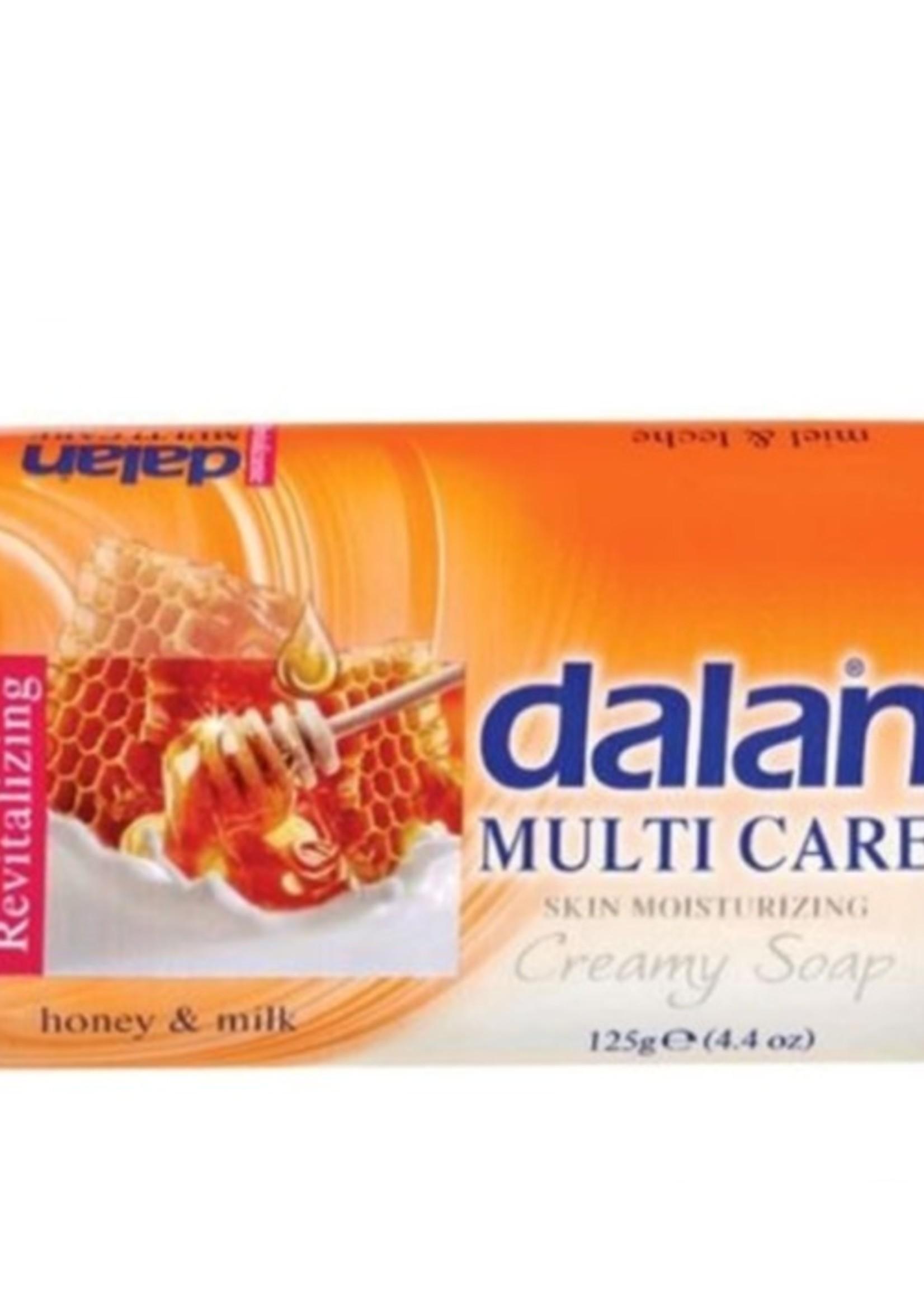 Dalan Multi Care Zeep Honing & Melk 90 gram