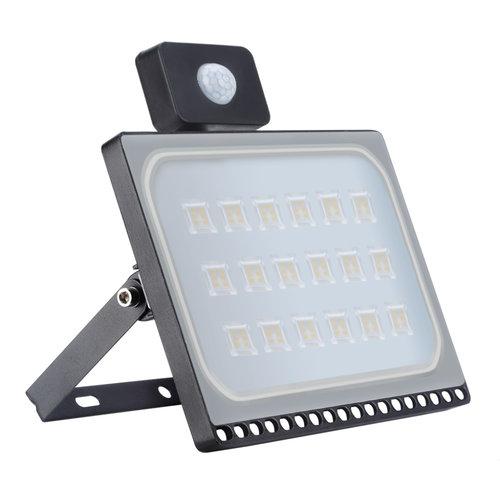 LED schijnwerper met bewegingsmelder 100W