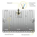 LED straler 200W
