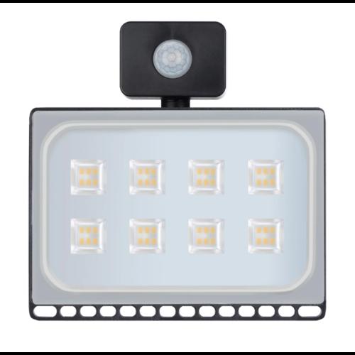 LED schijnwerper met bewegingssensor 50W