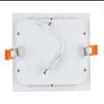 Paneellamp 6W vierkant inbouw