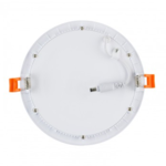 LED paneel plafond 12W rond inbouw