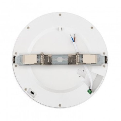 CCT LED paneel 22W rond opbouw of inbouw