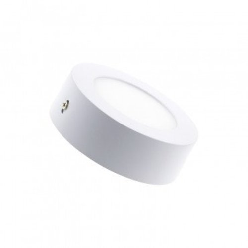 LED paneeltje rond opbouw 6W wit