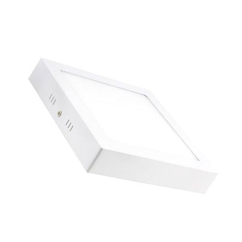 LED plafondlamp 18W vierkant wit