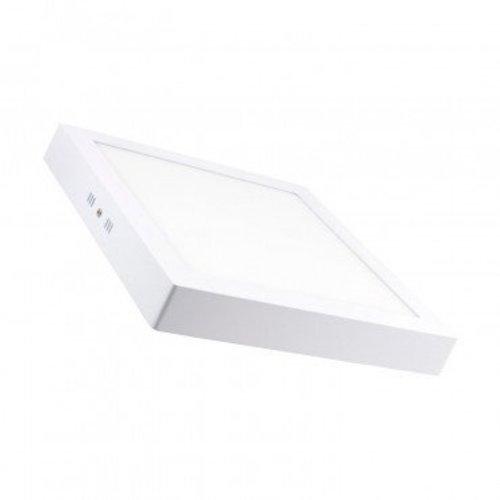 Paneellamp opbouw vierkant 24W wit