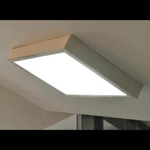 Alu kader voor LED paneel 60 x120 cm