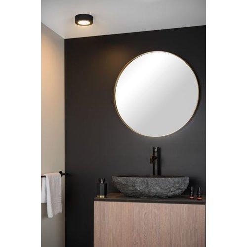 IP44 plafondlamp zwart of wit rond 8W dimbaar