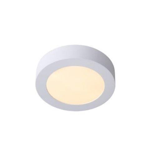Kleine plafonniere IP44 zwart of wit 11W LED dimbaar