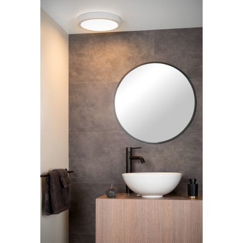 Dimbare plafondlamp IP44 wit of zwart 30W LED dimbaar