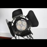 Vintage railspot industrieel schaarlamp zwart E27 monofasig